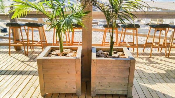 Jardinera de madera Modelo Lux simple