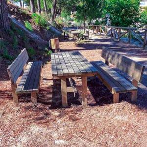 Mesa picnic Modelo Sencillo