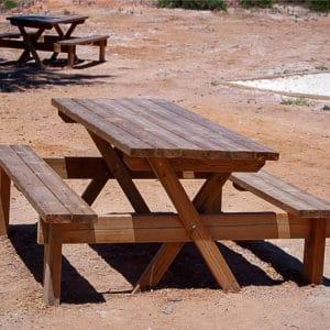 Mesa picnic Modelo Barbacoa