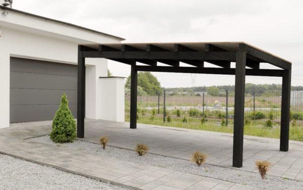 Modelo One garajes de madera y cocheras